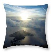 Wizard Sunburst Throw Pillow