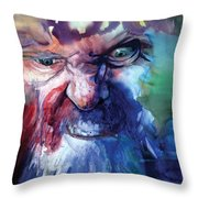 Wizzlewump Throw Pillow by Frank Robert Dixon