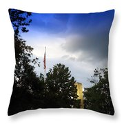 Wm. Henry Harrison Tomb Throw Pillow