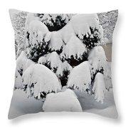 Wnter Tree 5 Throw Pillow