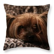 Woe Is Me Throw Pillow