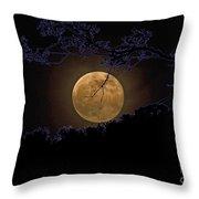 Wolfbane Moon Throw Pillow