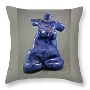 Woman #4 Throw Pillow