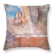 Woman Of Valor Throw Pillow