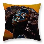 Womans Essence II              Throw Pillow