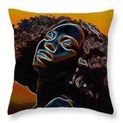 Womans Essence II              Throw Pillow