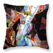 Womansong Throw Pillow