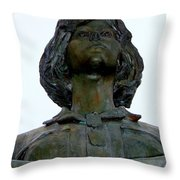 Women In War Throw Pillow