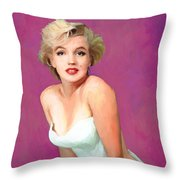 Women Who Seek To Be Equal With Men  Lack Ambition Throw Pillow