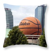 Women's Basketball Hall Of Fame Knoxville Tennessee Throw Pillow