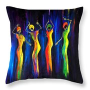 Womens Day Celebration In South Africa Throw Pillow
