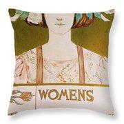 Womens Edition Buffalo Courier Throw Pillow