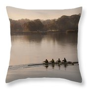 Women's Four On The Chester River Throw Pillow