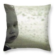 Wonder In Black And White Throw Pillow