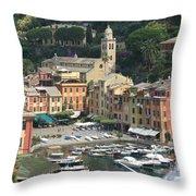 Wonderful Portofino Throw Pillow