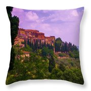 Wonderful Tuscany Throw Pillow