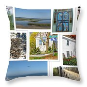 Wonderful Wellfleet Throw Pillow