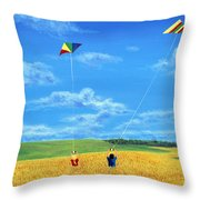 Wonderfull Wind Throw Pillow
