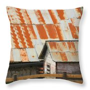 Wonderfully Weathered Throw Pillow