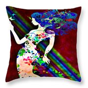 Wondering At The End Of The Rainbow Throw Pillow