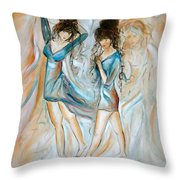 Wondering Throw Pillow