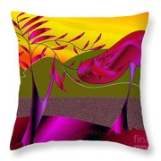 Wonderland Trail Throw Pillow