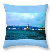 Wonders Of Istanbul Throw Pillow