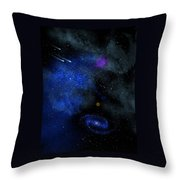 Wonders Of The Universe Mural Throw Pillow