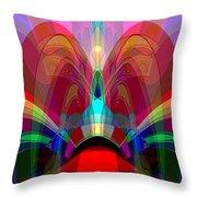 612 - Wondrous Machine Outburst  Throw Pillow