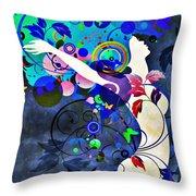 Wondrous Night Throw Pillow by Angelina Vick