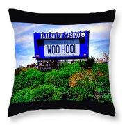Woo Hoo Throw Pillow