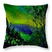 Wood 957 Throw Pillow