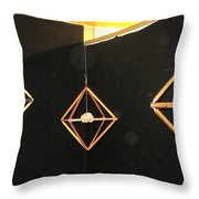 Wood And Rock In Motion I Throw Pillow