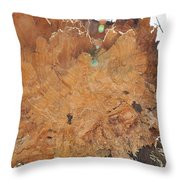 Wood Art Throw Pillow