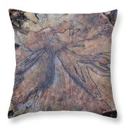 Wood Design Throw Pillow