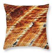 #woodgrain Throw Pillow