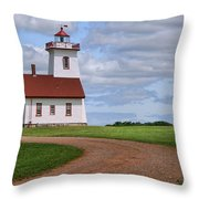 Wood Islands Lighthouse - Pei Throw Pillow
