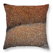 Wood Shavings Throw Pillow
