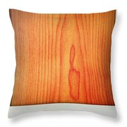Wood Texture Throw Pillow