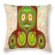 Woodcraft Ghosts Spirits Indian Native Aboriginal Masks Motif Symbol Emblem Ethnic Rituals Display H Throw Pillow