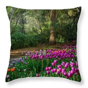 Wooded Bliss Throw Pillow
