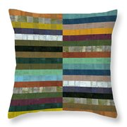Wooden Abstract Lx Throw Pillow