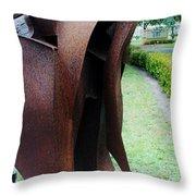 Wooden Horse5 Throw Pillow