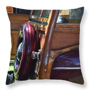 Woodie Throw Pillow