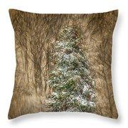 Woodland Christmas Throw Pillow