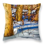 Woodland Graphic Throw Pillow