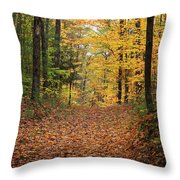 Woods 2 Throw Pillow