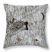 Woodscrew Throw Pillow