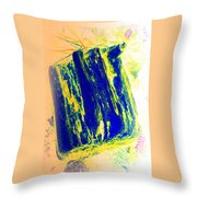 Coming Right From Woodstock Throw Pillow