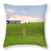 Woodstock Hill Of Peace Throw Pillow